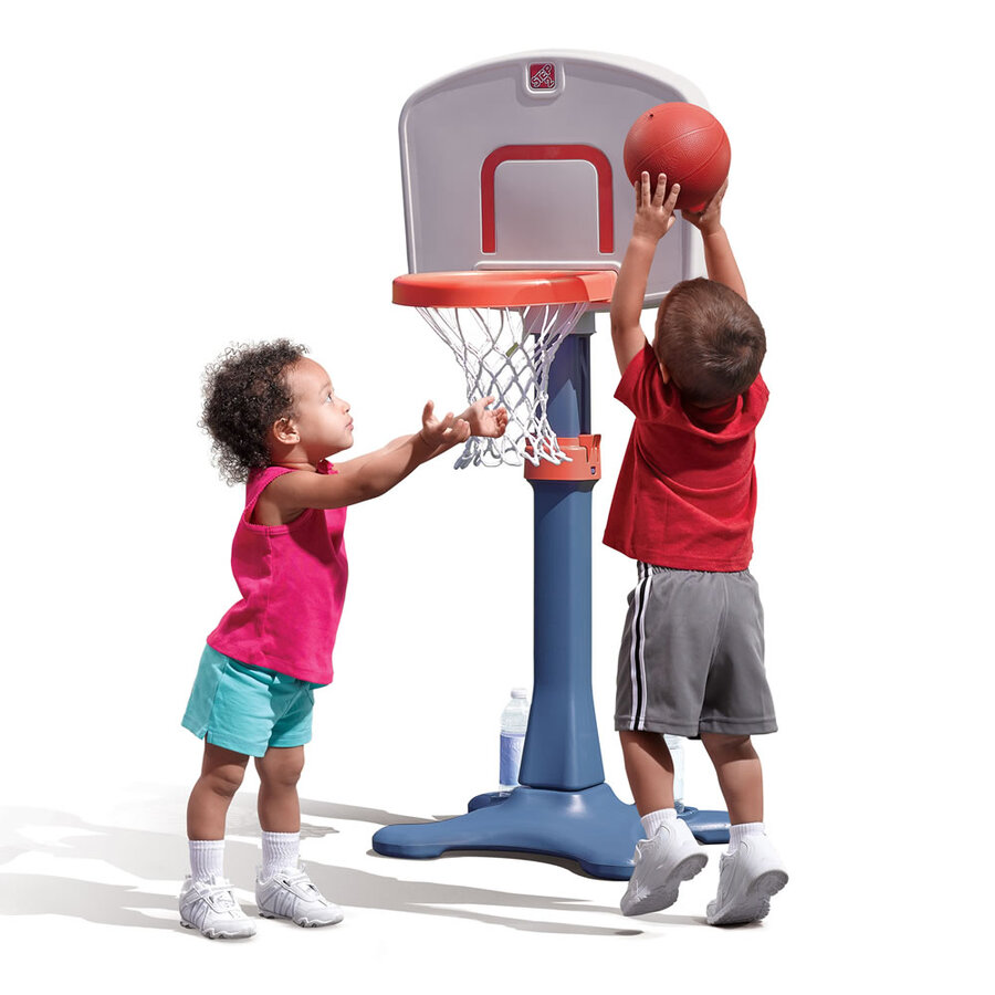 Shootin' Hoops Junior Basketball Set - Adjustable