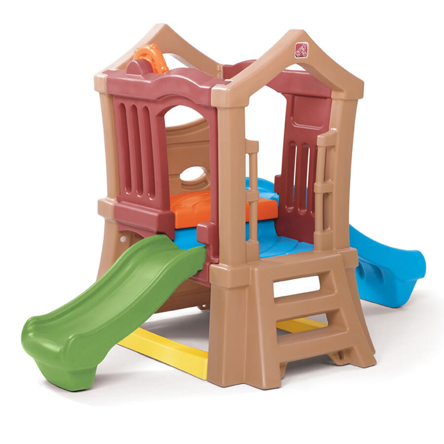 Play Up Double Slide Climber Step2