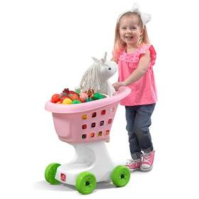 Little Helpers Shopping Cart - Pink