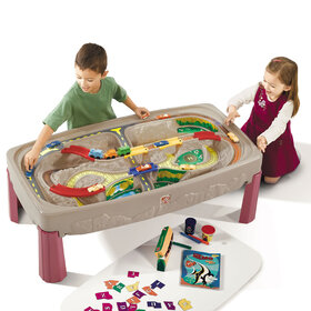 Deluxe Canyon Train Track Table