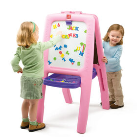 Easel For Two Pink