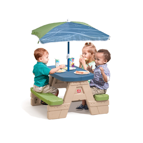 Sit & Play Picnic Table with Umbrella